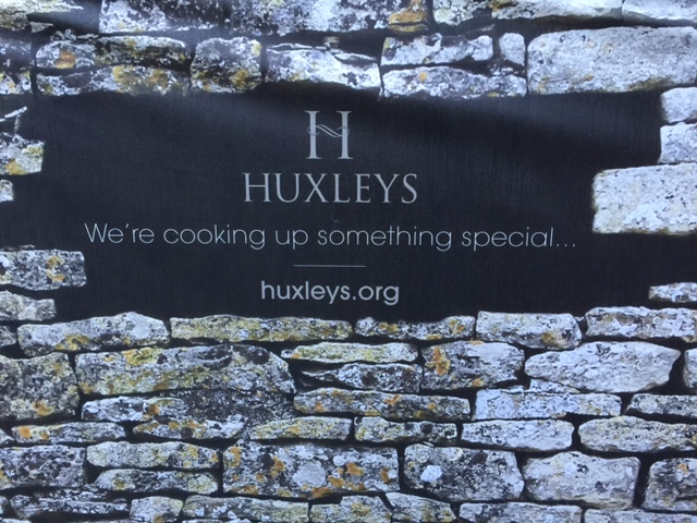Huxleys restaurant sign