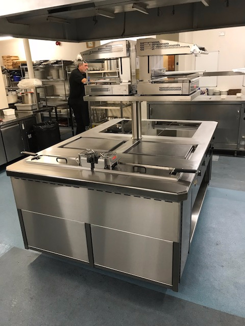 induction plancha and fryers