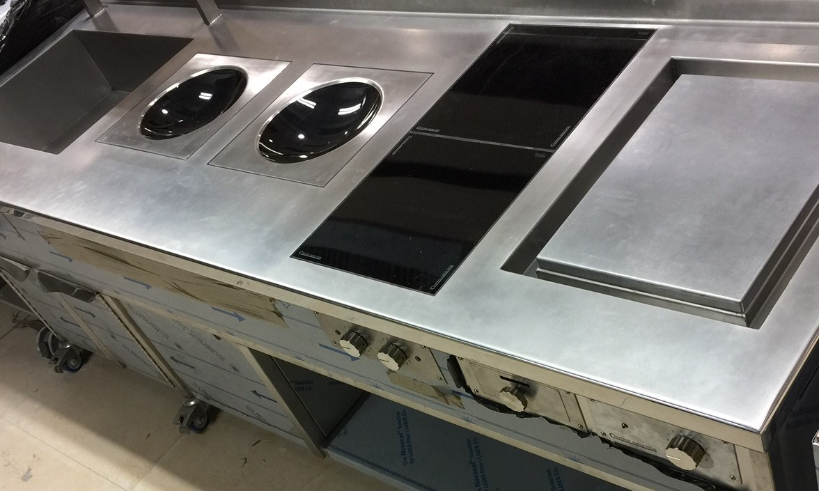 Cooking suites with woks - Induction Cooking Suites, Induction ...