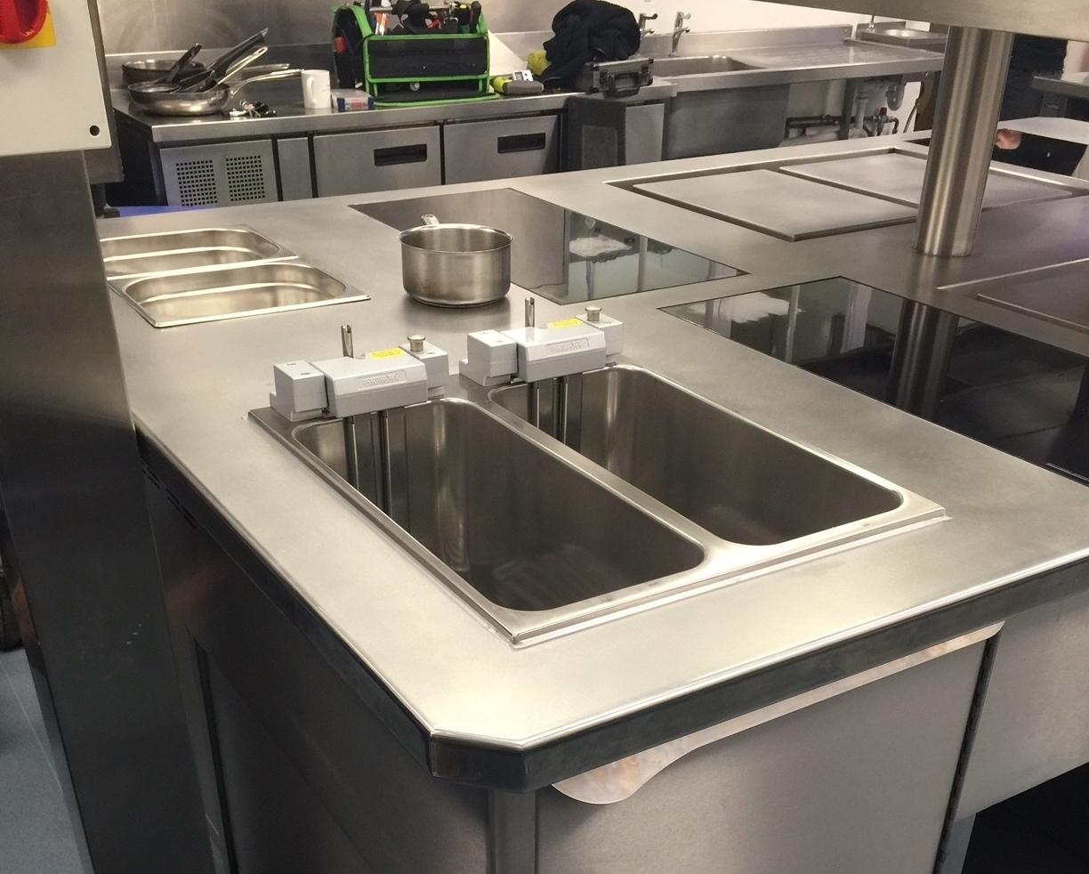 Double fryer in cooking suite Newmarket Jockey Club