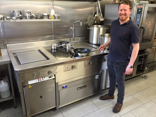 Kitchen Hobs Commercial ~ Johns house leicester michelin star induction