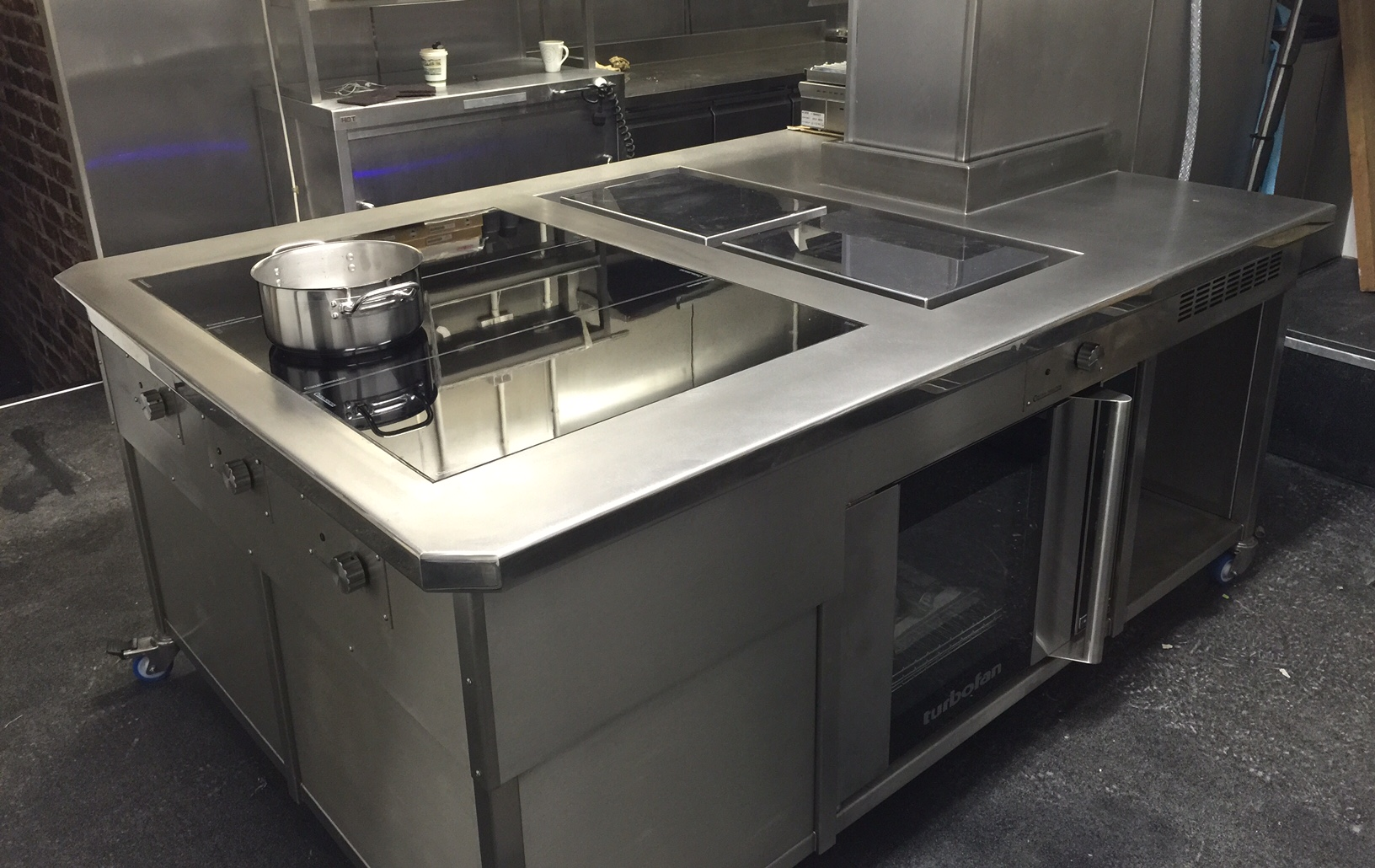 Bespoke induction cooking suite