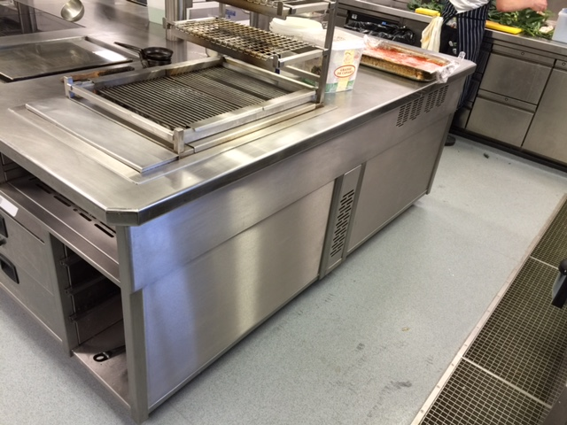Induction cooking suite with panels