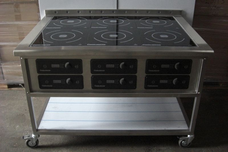 Induction Hob 6 X 3.1kw 2 800x600