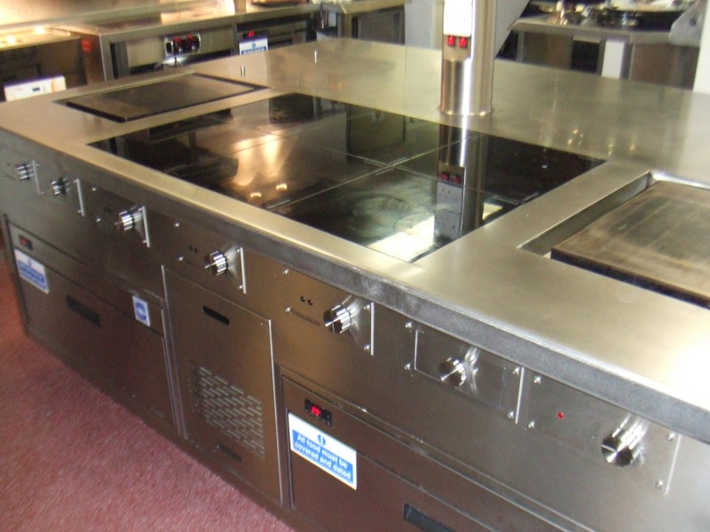 Kitchen Hobs Commercial ~ The slider induction solid top cooking suites